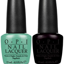 OPI Nail Lacquer -  Duo - Black Onyx and My Dog Sled is a...