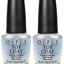 OPI Nail Lacquer Top Coat - 2 Bottles