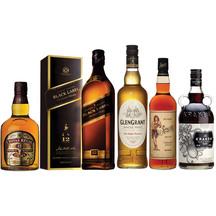 Premium Whisky & Specialty Rum