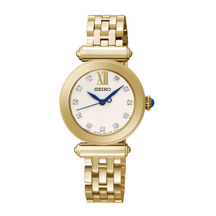 Seiko Ladies Gold Dress Watch