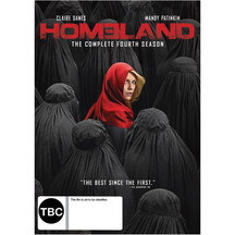 Homeland Season 4 DVD