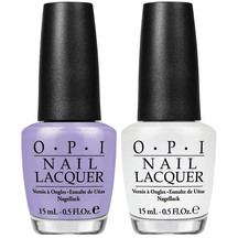 OPI Nail Lacquer - Duo - Alpine Snow / You're Such a Buda...