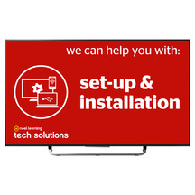 Tech Solutions Freestanding TV Setup Service