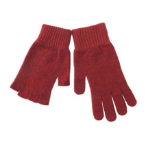Possum Merino Glove Set - Red