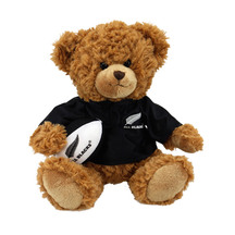 All Blacks Player Toy Bear