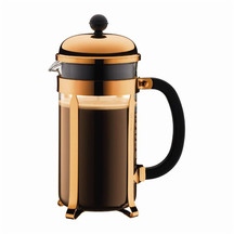 Bodum Chambord Coffee Maker 8 Cup/1L - Copper