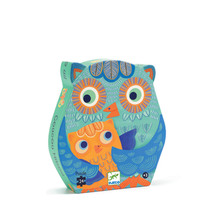 Silhouette Owl Puzzle