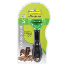 Furminator Deshedding Tool -  Long Hair for Small Dogs