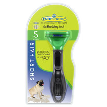 Furminator Deshedding Tool - Short Hair for Small Dogs