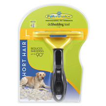 Furminator Deshedding Tool - Short Hair for Large Dogs