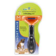 Furminator Deshedding Tool - Short Hair for Medium Dogs