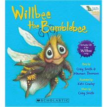 Willbee The Bumblebee & Cd - Craig Smith