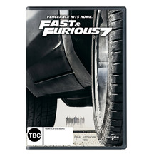 Fast and Furious 7 DVD or Blu-ray