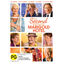 The Second Best Exotic Marigold Hotel DVD or Blu-ray