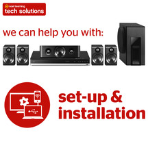 Tech Solutions Home Theatre Setup Service