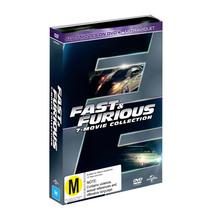 Fast and Furious 1 - 7 Boxset