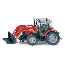 Siku 1:32 Massey Ferguson 894 with Front Loader Fork