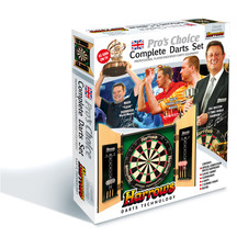 Harrows Pro Choice Dartboard and Cabinet Set