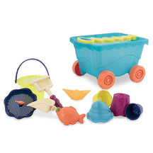 Battat  Wavey Wagon with Beach Toys