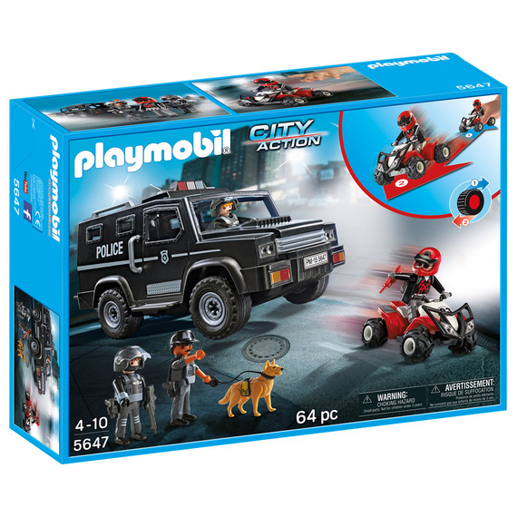 Fly Buys: Playmobil Club Set City Action Tactical Unit
