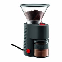 Bodum Burr Coffee Grinder + FREE Kenya Coffee Maker 8 Cup