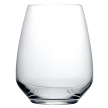 Luigi Bormioli Atelier Stemless Wine Glasses Set of 6