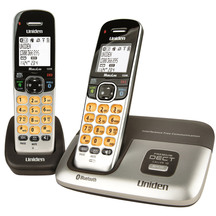 Uniden Premium Twin Handset Cordless Phone - DECT3216+1
