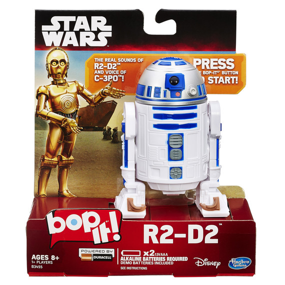 Fly Buys Bop It Star Wars R2 D2 Edition Game