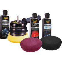 Meguiars Da Power System with Pads and Product