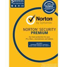 Norton Security Premium 3.0 25GB 1U 5 Device