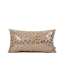 Thread Design Foil Pebble Print Cushion