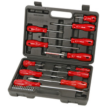 Powerbuilt 31 Piece Screwdriver And Bit Set