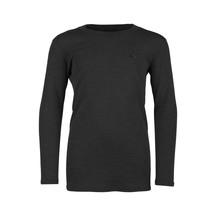 MACPAC Merino 210 Long Sleeve Crew Kids - Black