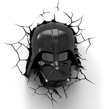 Darth Vader Helmet 3D Deco Wall/Night Light