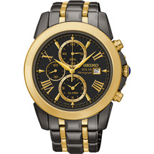 Seiko Men's Le Grand Sport Solar Chronograph Watch