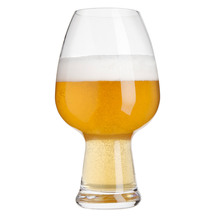 Luigi Bormioli Birrateque Wheat Style Craft Beer Glass Gi...
