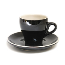 Rockingham Long Black Cup & Saucer - Set of 6
