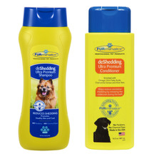 Furminator De Shedding Shampoo & Conditioner Set 487mL