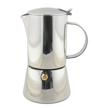 46109  espresso maker 10 cup stainless steel