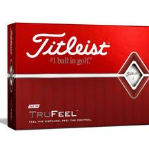 Titleist DT Trufeel Golf Balls - Dozen