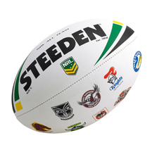 NRL All Team Rugby League Ball - Logo Size 5