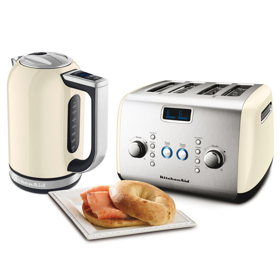Fly buys kitchenaid artisan kettle and 4 slice toaster set - Artisan toaster slice ...