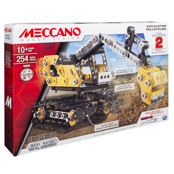 meccano junior digger instructions
