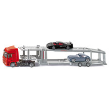 Siku 1:50 Mercedes Actros Car Transporter with 2 Cars