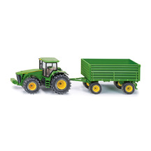 Siku 1:50 John Deere 8430 with Side Tipping Trailer