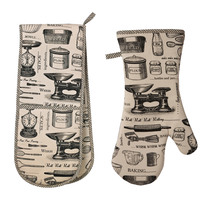 Ulster Weavers Double Oven Glove and Gauntlet Set