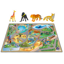 Playmat - Zoo with accessories