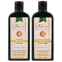 A'kin Shampoo & Conditioner Duo 225ml - All Hair Types