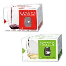 Govino Polymer Red & White Wine/Cocktail Glasses