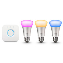 Philips Hue Starter Kit - Bridge and 3 Bulbs